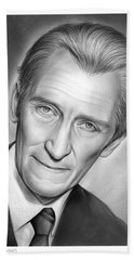 Peter Cushing Bath Towel