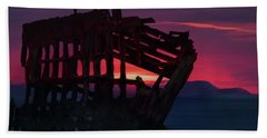 Peter Iredale Shipwreck Hand Towel