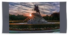 Peter Rides At Dawn Bath Towel