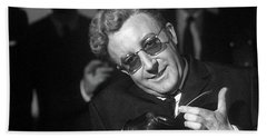 Peter Sellers As Dr. Strangelove Number One Color Added 2016 Bath Towel