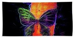Petit Bois Butterfly Hand Towel