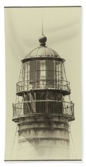 Petit Manan Lighthouse Bath Towel by Brian Caldwell