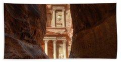Petra Treasury Revealed Hand Towel