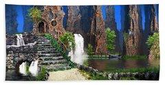 Petrified Forest Bath Towel