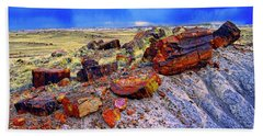 Petrified Forest National Park Hand Towel