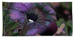 Petunia 1 Hand Towel by Stuart Turnbull