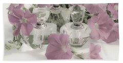 Petunias And Perfume - Soft Bath Towel