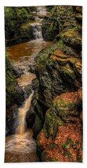 Pewits Nest Three Waterfalls Hand Towel