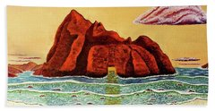 Pfeiffer Beach Big Sur Bath Towel