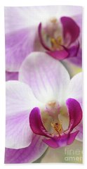 Phalaenopsis Orchid Hand Towel