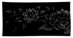 Phantom Peonies Hand Towel