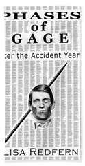 Phases Of Gage Book Poster  Hand Towel