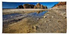 Hand Towel featuring the photograph Pheiffer Beach -keyhole Rock #18 - Big Sur, Ca by Jennifer Rondinelli Reilly - Fine Art Photography