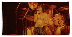 Phil Mogg Of Ufo Bath Towel