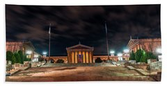 Bath Towel featuring the photograph Philadelphia Museum Of Art by Marvin Spates