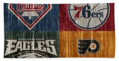 Philadelphia Sports Teams Hand Towel