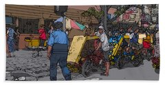 Philippines 906 Crosswalk Bath Towel
