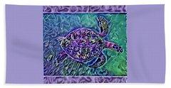 Phillis The Turtle Bath Towel