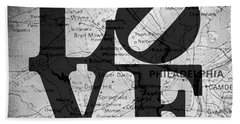 Philly Love V13 Hand Towel