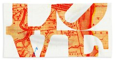 Philly Love V4 Hand Towel