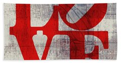 Philly Love V8 Hand Towel