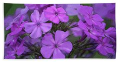 Phlox Bath Towel