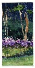 Phlox Meadow, Harrington State Park Bath Towel