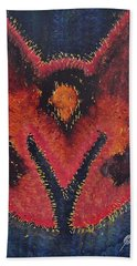 Phoenix Rising Original Painting Hand Towel