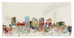 Phoenix Skyline Bath Towel