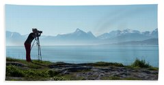 Photograph In Norway Hand Towel