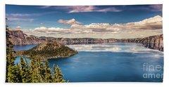 Crater Lake Hand Towel