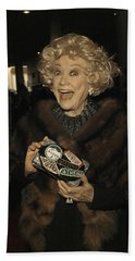 Phyllis Diller Bath Towel by Nina Prommer