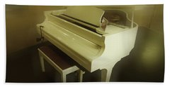Piano Dream Bath Towel