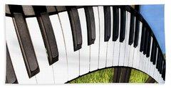 Piano Land Hand Towel