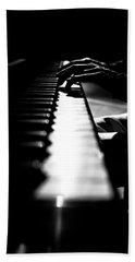 Piano Player Hand Towel