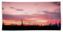 Picacho Sunset Bath Towel