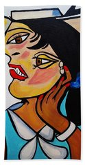 Picasso By Nora Bath Towel