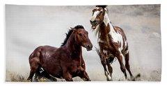 Picasso - Wild Stallion Battle Bath Towel