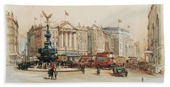 Piccadilly Circus Bath Towel