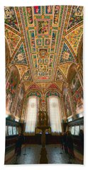 Piccolomini Library Siena Italy Bath Towel