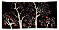 The Valentine Forest Hand Towel