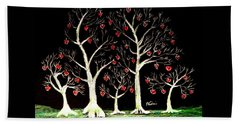 The Valentine Forest Bath Towel