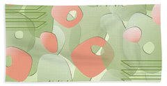 Picket Fences Hand Towel by Tara Hutton