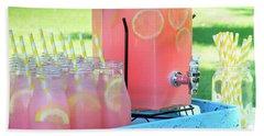Picnic Pink Lemonade Hand Towel