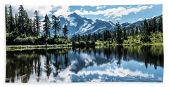 Picture Lake Hand Towel