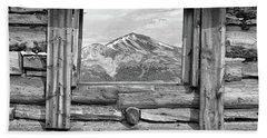 Hand Towel featuring the photograph Picture Window #2 by Eric Glaser