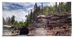 Pictured Rocks Hand Towel