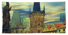Picturesque - Prague Bath Towel