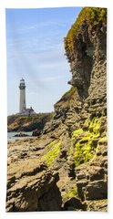 Pidgeon Point Lighthouse Bath Towel