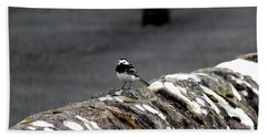 Pied Wagtail Hand Towel